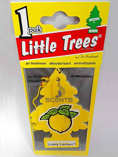 Елочка Little trees Lively Lemon